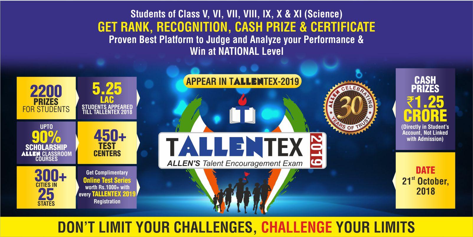 TALLENTEX - 2019