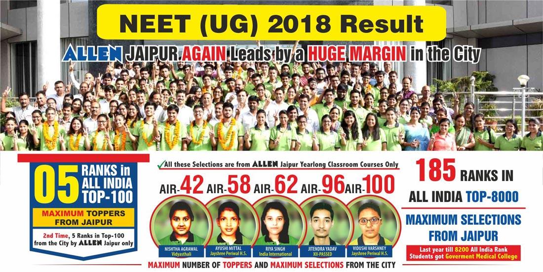 NEET(UG) Result 2018