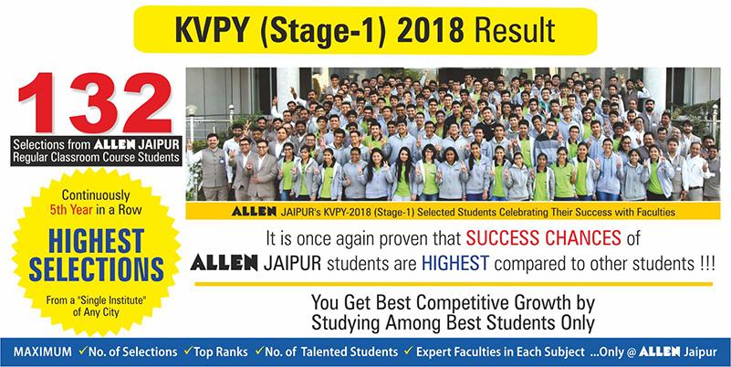 KVPY Stage-1 2018