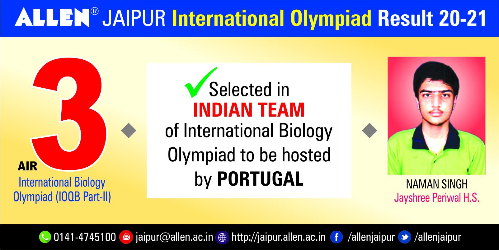 International Olympiad result 2020-21 19June 2125